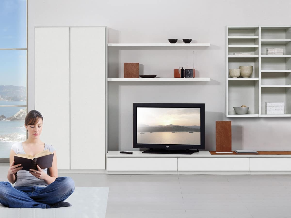Mobili Per La Sala Ikea mobile soggiorno moderno ikea kofkever vivaldi porta tv