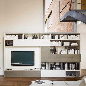Modo M5C56, Libreria con piano a ribalta