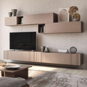 Nova NOVACOMPO1, Mobile per soggiorno in vero legno