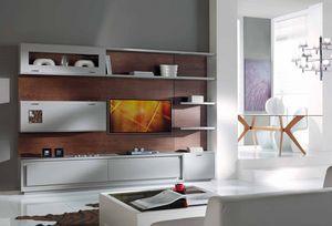 Prima Classe parete attrezzata, Parete attrezzata per soggiorno, componibile