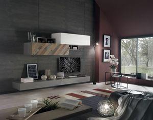 Spazio Contemporaneo SPAZ11, Mobile per soggiorno moderno