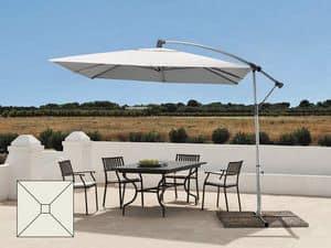 Ombrellone a braccio decentrato giardino alluminio Garden � GA303UVA, Ombrellone impermeabile, con protezione raggi UV