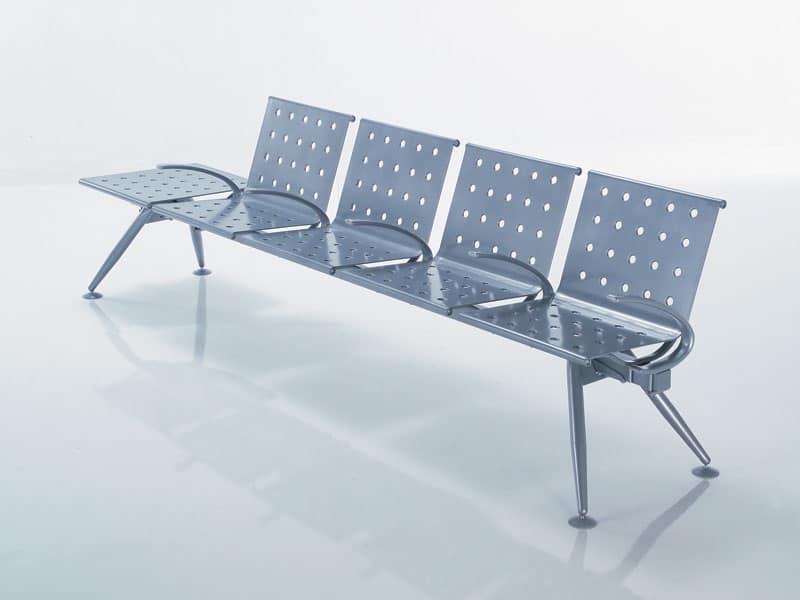 Ulisse, Panca componibile dal design essenziale e innovativo