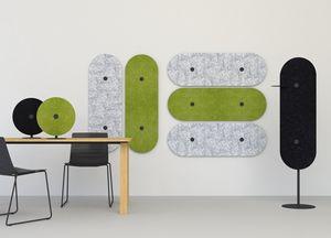 Acustica, Pannelli fonoassorbenti decorativ