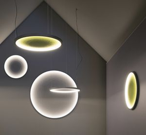 FUTON, Pannelli fonoassorbenti con luce incorporata