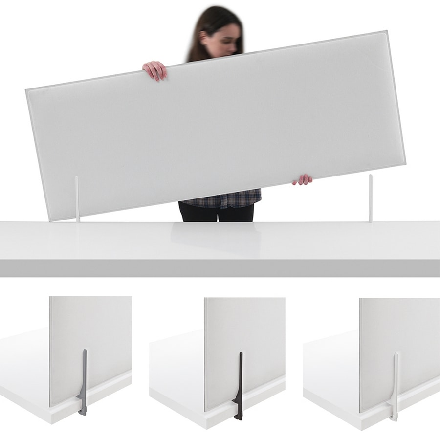 Minimal, Sisstema di pannelli divisori per scrivania