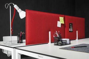 Piuma, Pannelli fonoassorbenti per scrivania ufficio