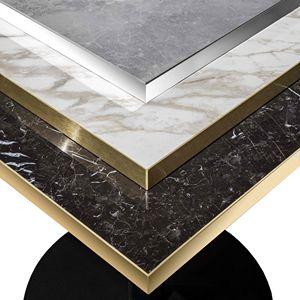 Art. 1101 Top Greso Porcellanato, Piano per tavolo in gres porcellanato