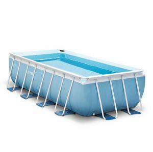 Piscina fuori terra Intex 26792 ex 26778 Prism Frame rettangolare 488x244x107 - 26792, Ampia piscina smontabile