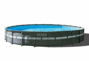 Piscina Intex 26340 Ultra XTR Frame Fuori Terra Rotonda 732x132cm - 26340, Ampia piscina tonda