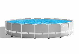 Piscina Intex Prism Frame 26732 ex 26752 Fuori Terra Rotonda 549x122 - 26732, Ampia piscina tonda da giardino