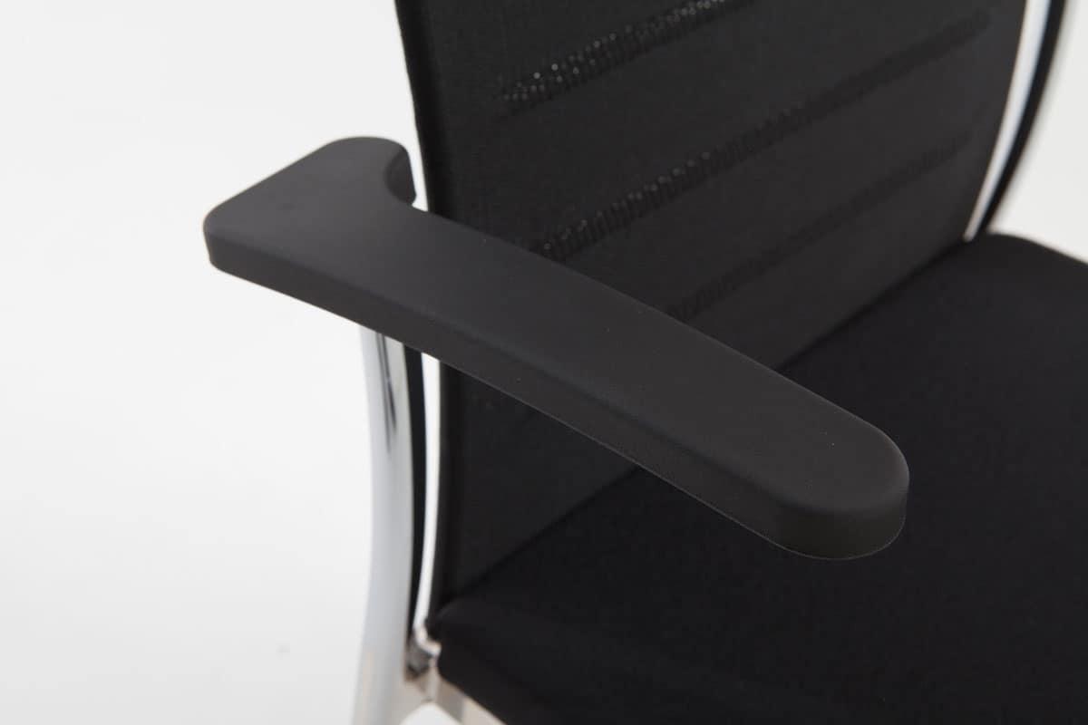 Evosa 08/2A, Poltroncina in metallo per bar, poltroncina moderna per la casa