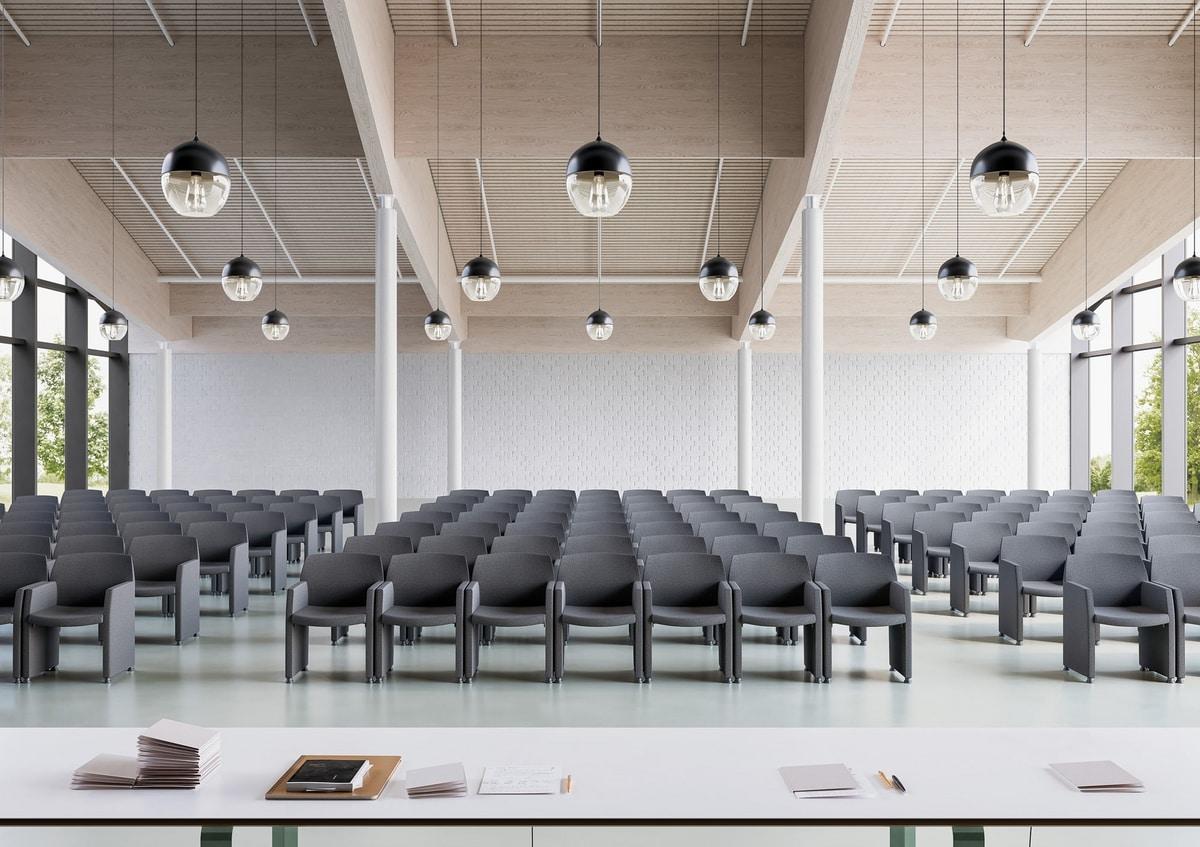 Klipp, Poltroncina multiuso per riunioni e conferenze