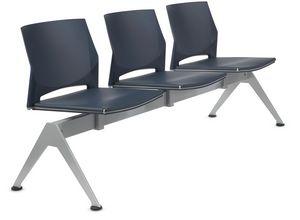 TREK 042/B3, Seduta su barra con tre sedute
