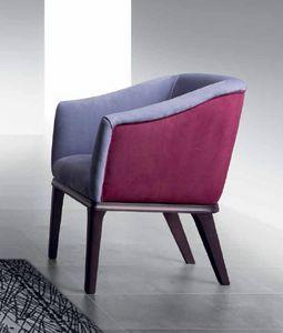 PO68 Club poltrona, Poltrona con cinghie elastiche per un maggiore comfort