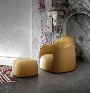 Sweet Lounge Chair, Accogliente poltrona