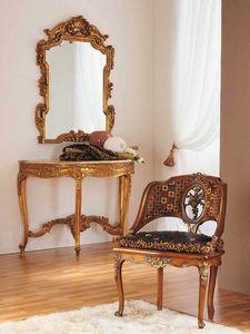 Aureola poltrona, Poltrona stile Luigi XVI