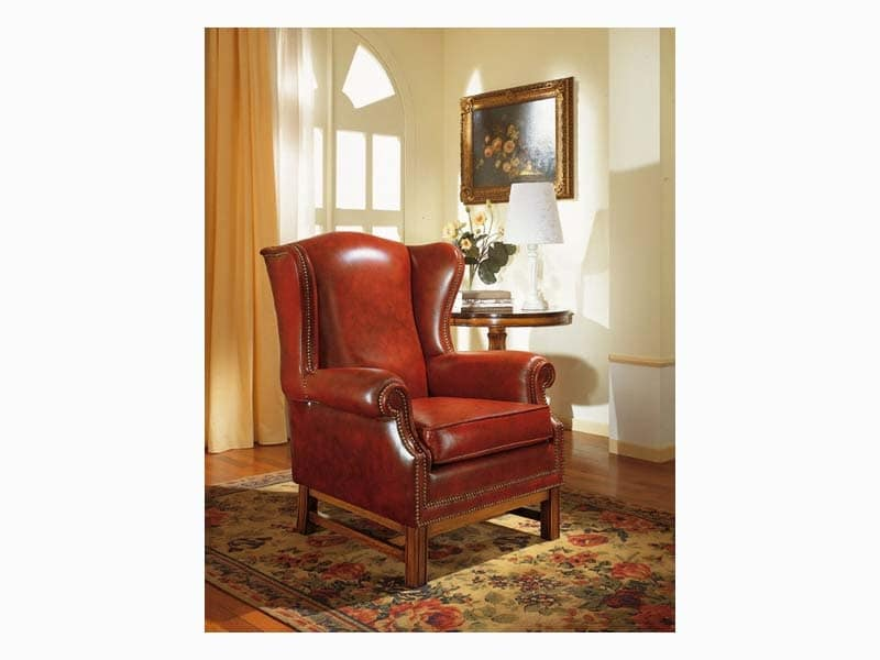 Harward, Poltrona bergère elegante, per salotto e albergo