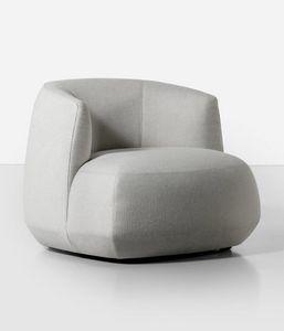 Brioni Up armchair, Poltrona con schienale alto