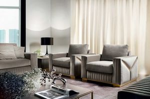 Tivoli poltrona, Poltrona dal design contemporaneo
