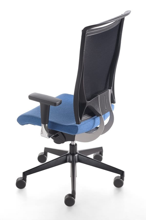 Korium, Sedia operativa per ufficio, con ruote