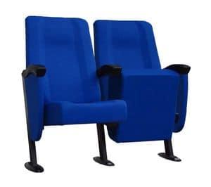 Simplex 1, Poltrone imbottite  modulari per sale cinema e teatri