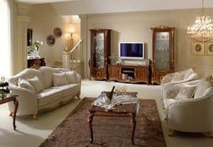 Donatello mobile tv, Mobili porta tv in legno, di qualit� italiana, per la salotto