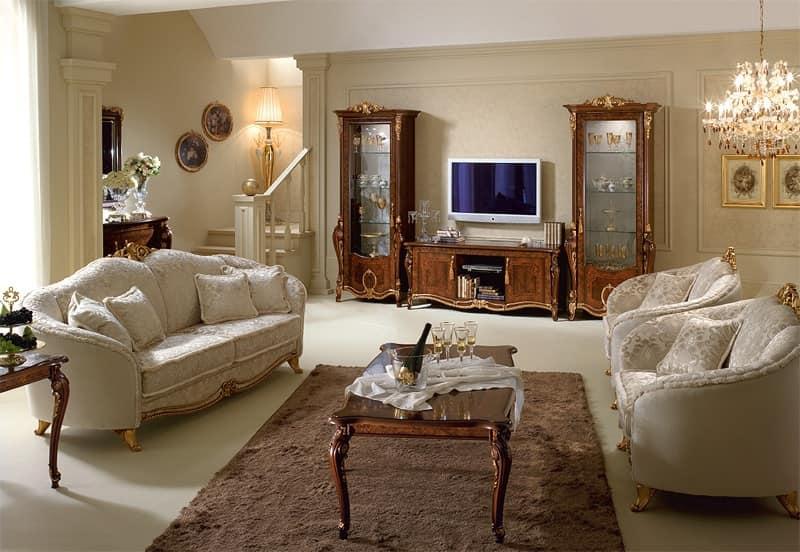 ... tv, Mobili porta tv in legno, di qualità italiana, per la salotto