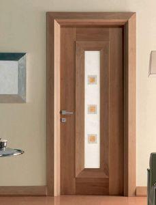Mondrian Art. 913/QQ/04, Porta con inserto decorativo in alabastro