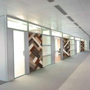 LINEA PORTE PW-BC, Porte di design per pareti divisorie, dalle linee essenziali