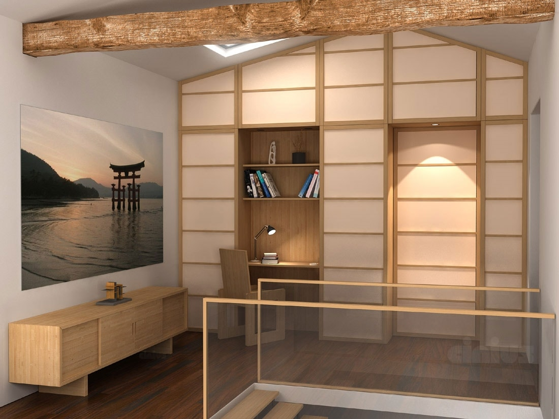 Ante e pareti scorrevoli in stile giapponese | IDFdesign