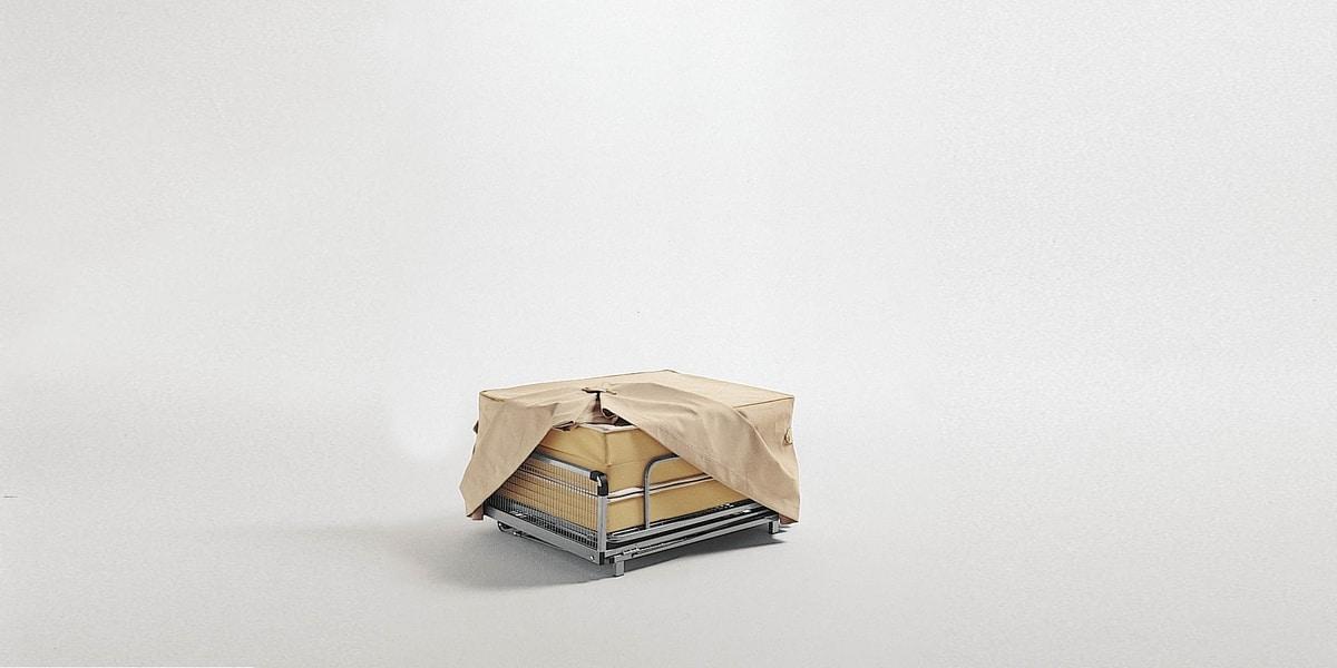 Dizzy pouf, Pouf trasformabile in letto