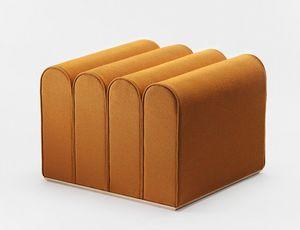 Arkad S, Collezione di pouf modulari