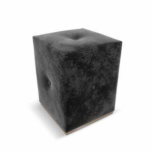 Ebon Art. 635, Pouf rivestito in tessuto