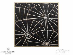 Black parasol � MT 609, Dipinto geometrico