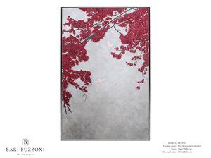 Cherry Blossom � MT610, Dipinto materico, effetto basso rilievo