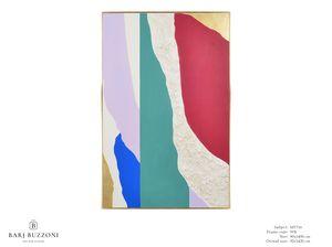Colours reveal their personality - MT716, Quadro con effetto basso rilievo