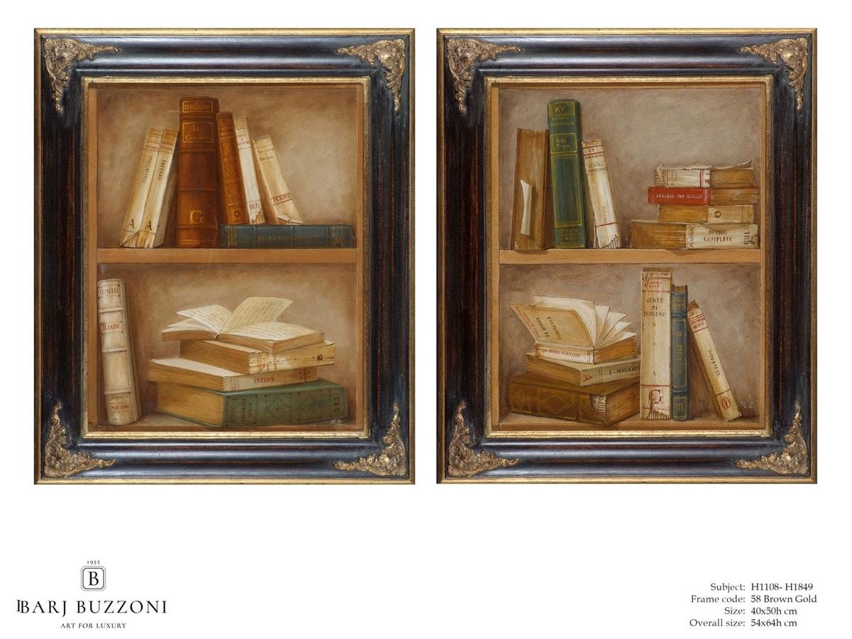 Epic Books – H 1108, Quadro ad olio su tela