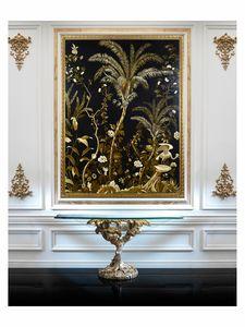 Lush exotic nature � H 3554, Dipinto ad olio su tela