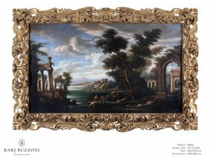 Old architectural remains � SP 401, Dipinto ad olio, in stile classico