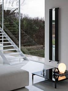 Reflex, Calorifero decorativo, con specchio, in acciaio