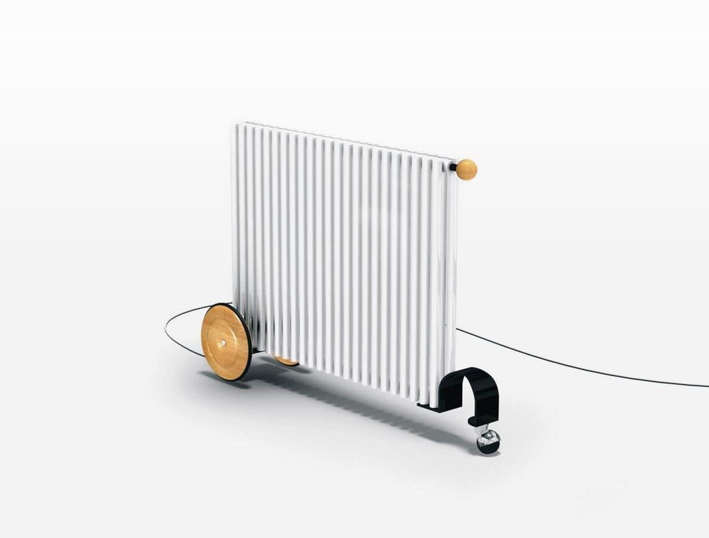 Rimorchietto, Radiatore trasportabile, funzionante elettricamente