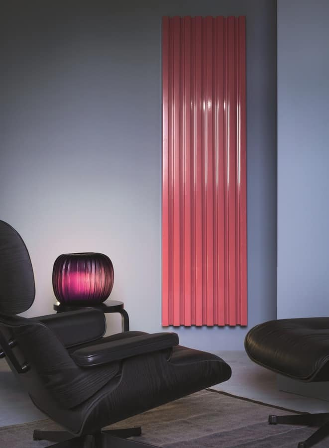 Soho, Termosifone a parete, dal design contemporaneo