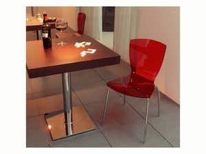 ART. 503, Piano in legno per tavolini da bar