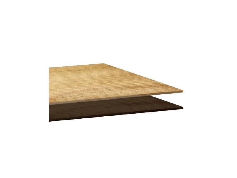 Piani in laminato cod. 112 cod. 127, Piano quadrato per tavolo da bar, in laminato