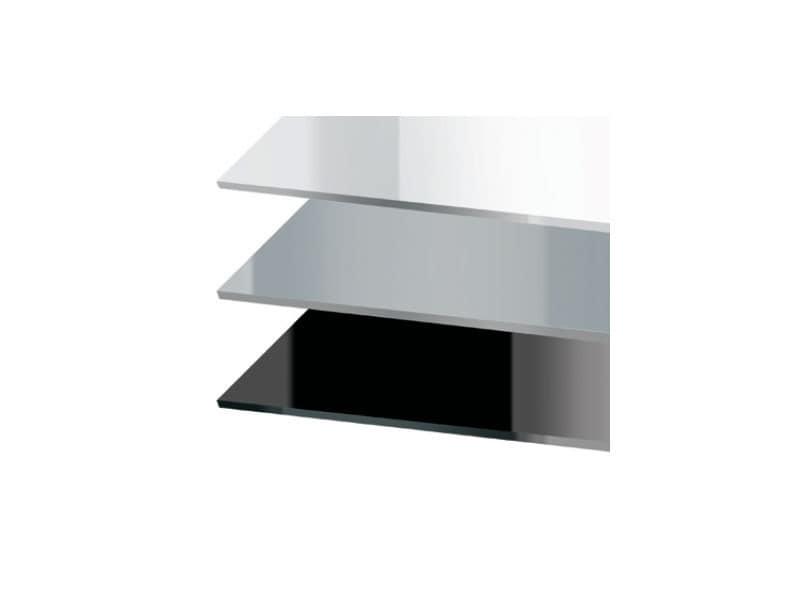 Piani luxury cod. 150 cod. 151, Piano quadrato per tavolo da bar, in acrilico