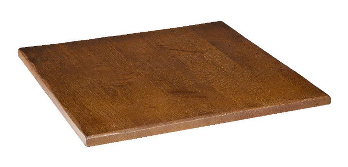Piano tavolo in massello faggio anticato, Piano in massello faggio anticato