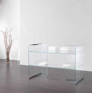 Glassystem COM/GS17, Scaffalatura bassa per negozi