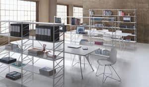 Socrate ufficio, Scaffalatura componibile per biblioteche e negozi