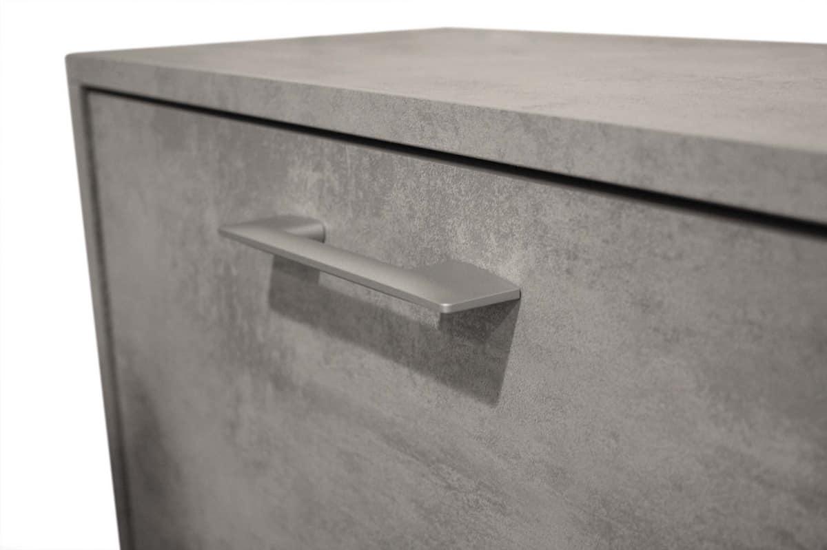 Art. 885 Wall, Scarpiera salvaspazio con antea ribalta